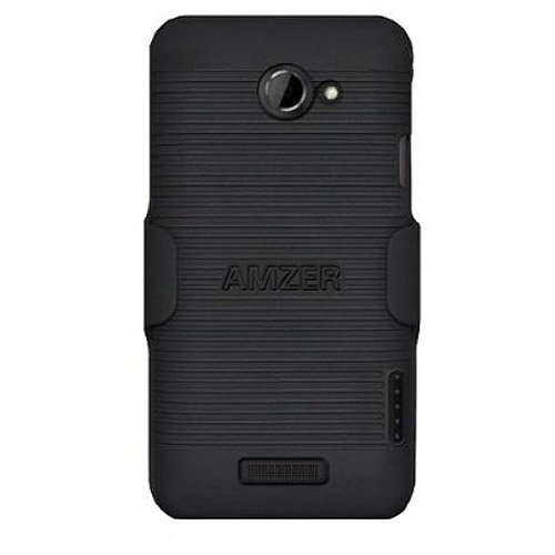 Amzer Shellster for HTC One X, Black