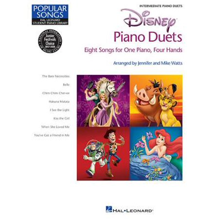 Disney Piano Duets : Hal Leonard Student Piano Library Popular Songs Series Intermediate 1 Piano, 4 Hands](Popular Halloween Songs)