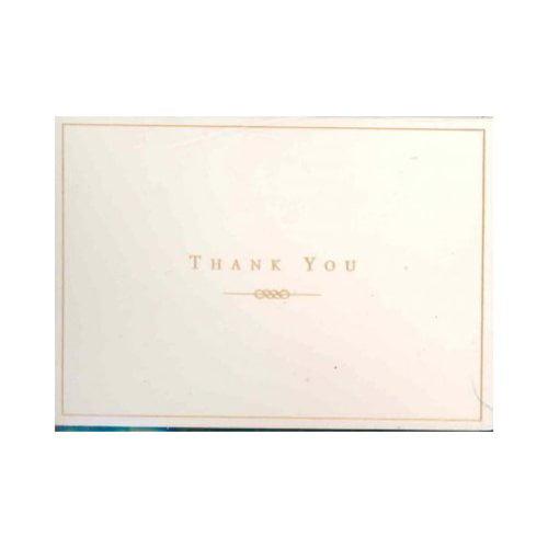 Gold/Cream: Thank You