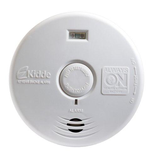 Kidde P3010H Worry-Free 10-Year Hallway Smoke Alarm