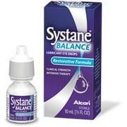 Systane Balance Lubricant Eye Drops Restorative Formula, 0.33 FL OZ