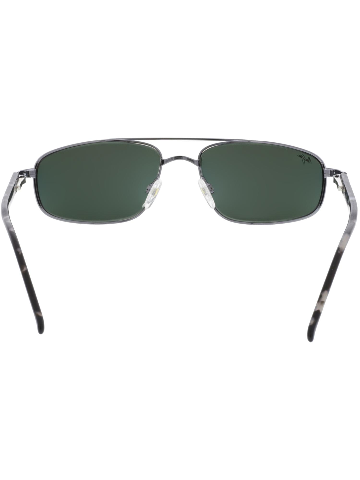 755e29c64d37 Maui Jim - Maui Jim Men's Kahuna 162-02 Silver Aviator Sunglasses -  Walmart.com