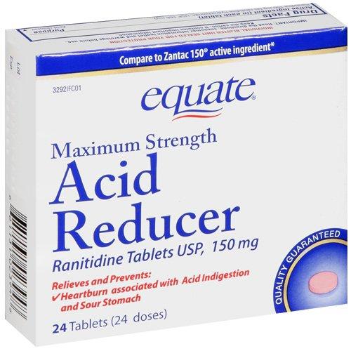 Equate Ranitidine 150Mg Tablets 24Ct. Equate Maximum Strength Acid Reducer 24