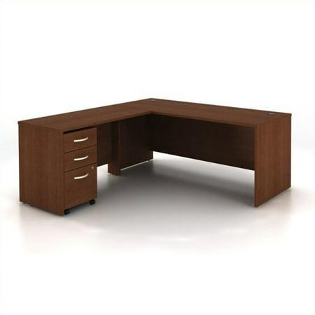 Bush Business Series C 3-Piece L-Shape Computer Desk in Mahogany - image 1 de 1