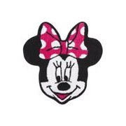 Disney Minnie Mouse Bath Rug, 26.5 by 28-Inch