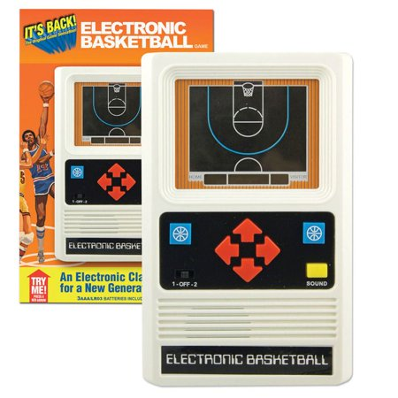 Electronic Basketball (Handheld) - Family Game by Schylling (9505) ()