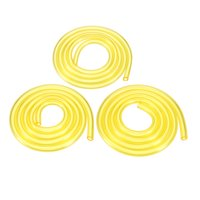2 Ft Petrol Fuel Line Hose 3 Size PVC Soft Pipeline for Common 2 Cycle Small Engine Weedeater Chainsaw 1 Set