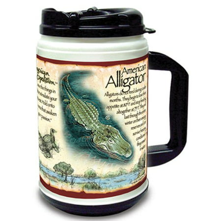 Image of American Expedition 24-Ounce Thermal Mug (American Alligator)