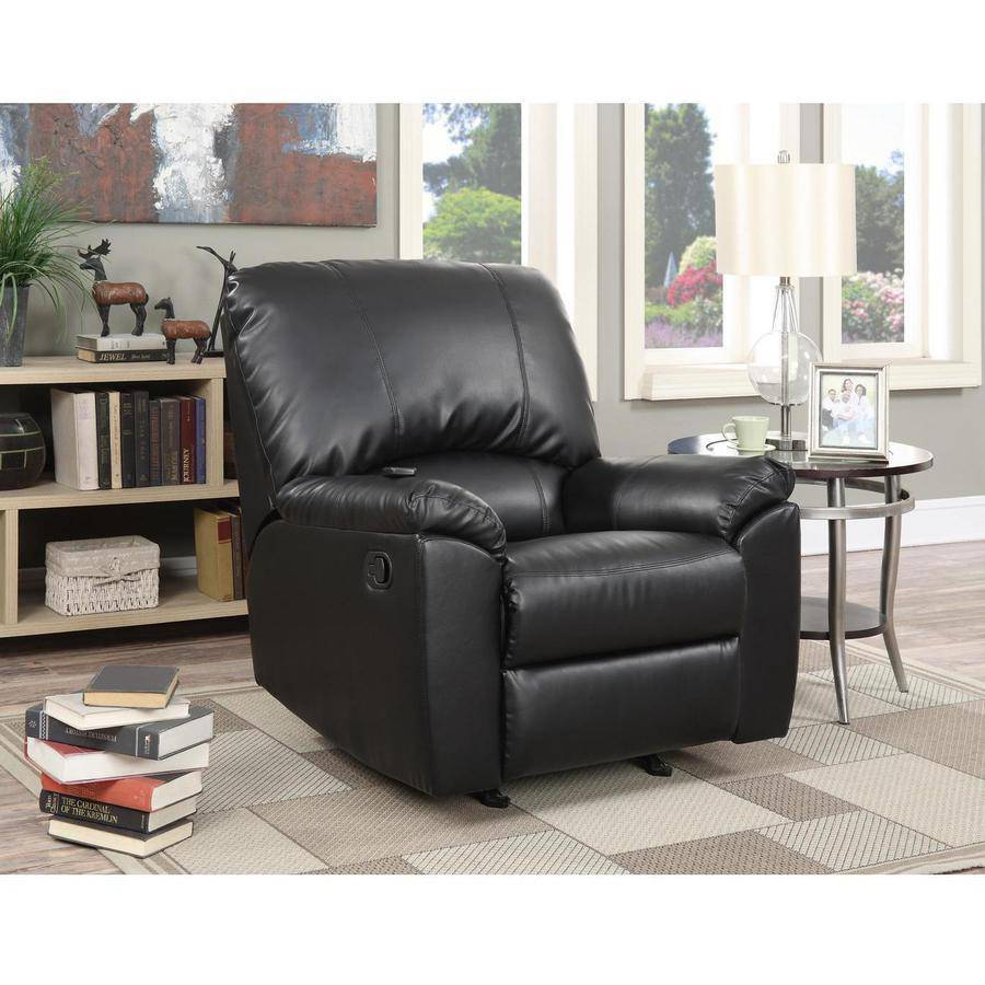 Serta Massage Recliner, Black