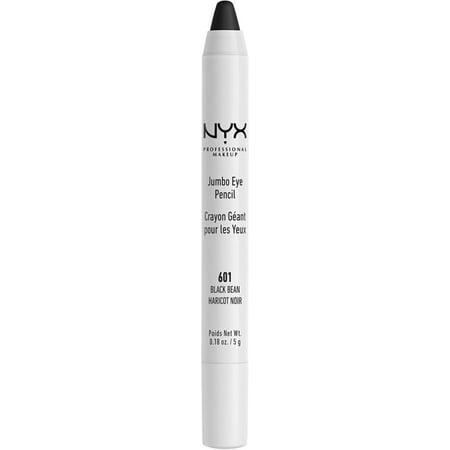 3 Pack - NYX Professional Makeup Jumbo Eye Pencil, Black Bean 0.18 oz