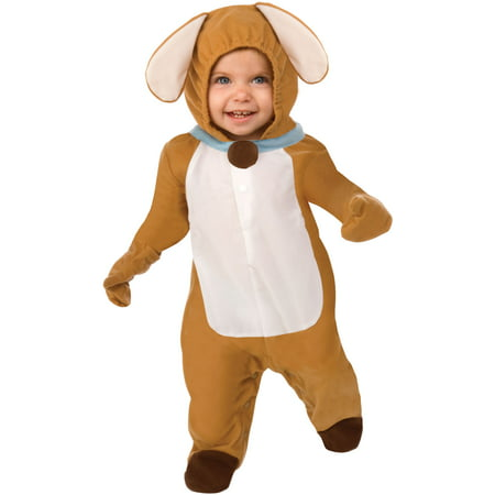 Living Fiction Puppy Love Dog Baby Animal Infant Costume, Brown - Dog Costume Toddler