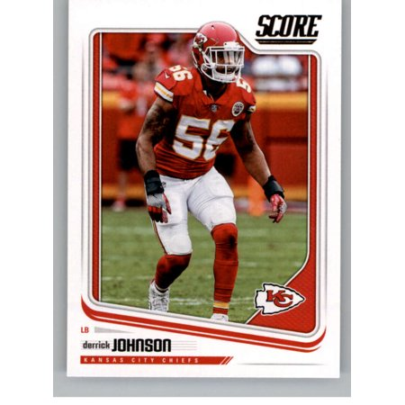 2018 Score #163 Derrick Johnson Kansas City Chiefs Football Card