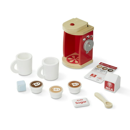 Melissa Doug Brew For Two Wooden Coffee Set 11 Piece