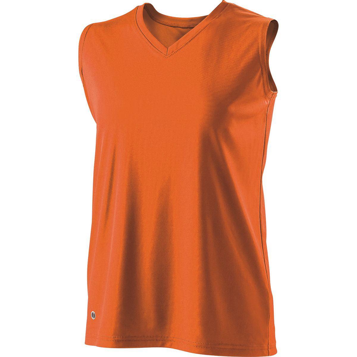 Holloway Girls Flex Sleeveless Tee Orange S - image 1 de 1
