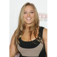 Ronda Rousey In Attendance For 4Th Annual Fighters Only World Mixed Martial Arts (Mma) Awards Stretched Canvas -  (8 x 10)
