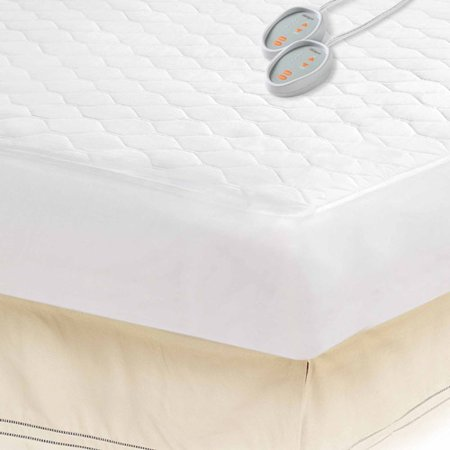 one bedding split product control queen mattress electric electrowarmth size heated bath pad