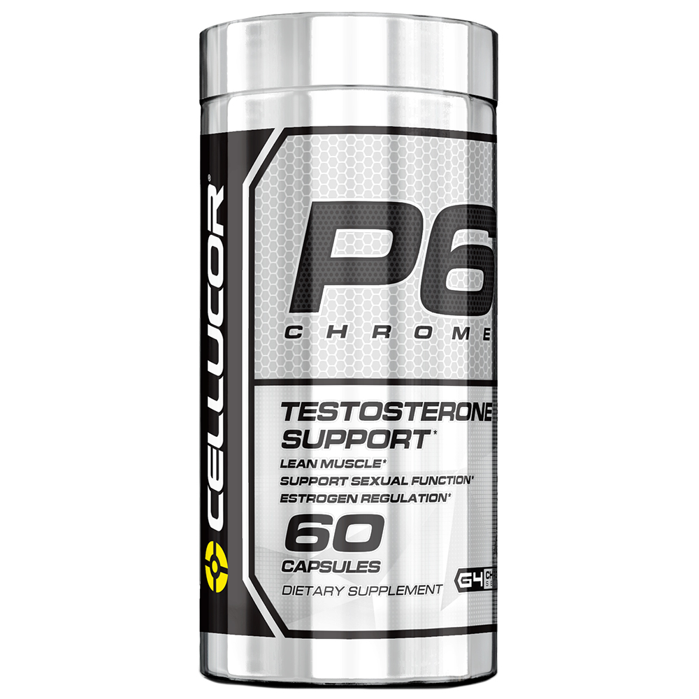 Cellucor P6 Chrome Test Booster Capsules, 60 Ct