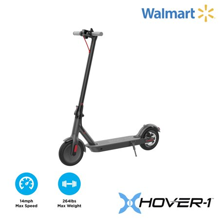 "Hover-1 Journey Folding Electric Scooter with 8.5"" Air Filled Tires, 14 mph, Black"