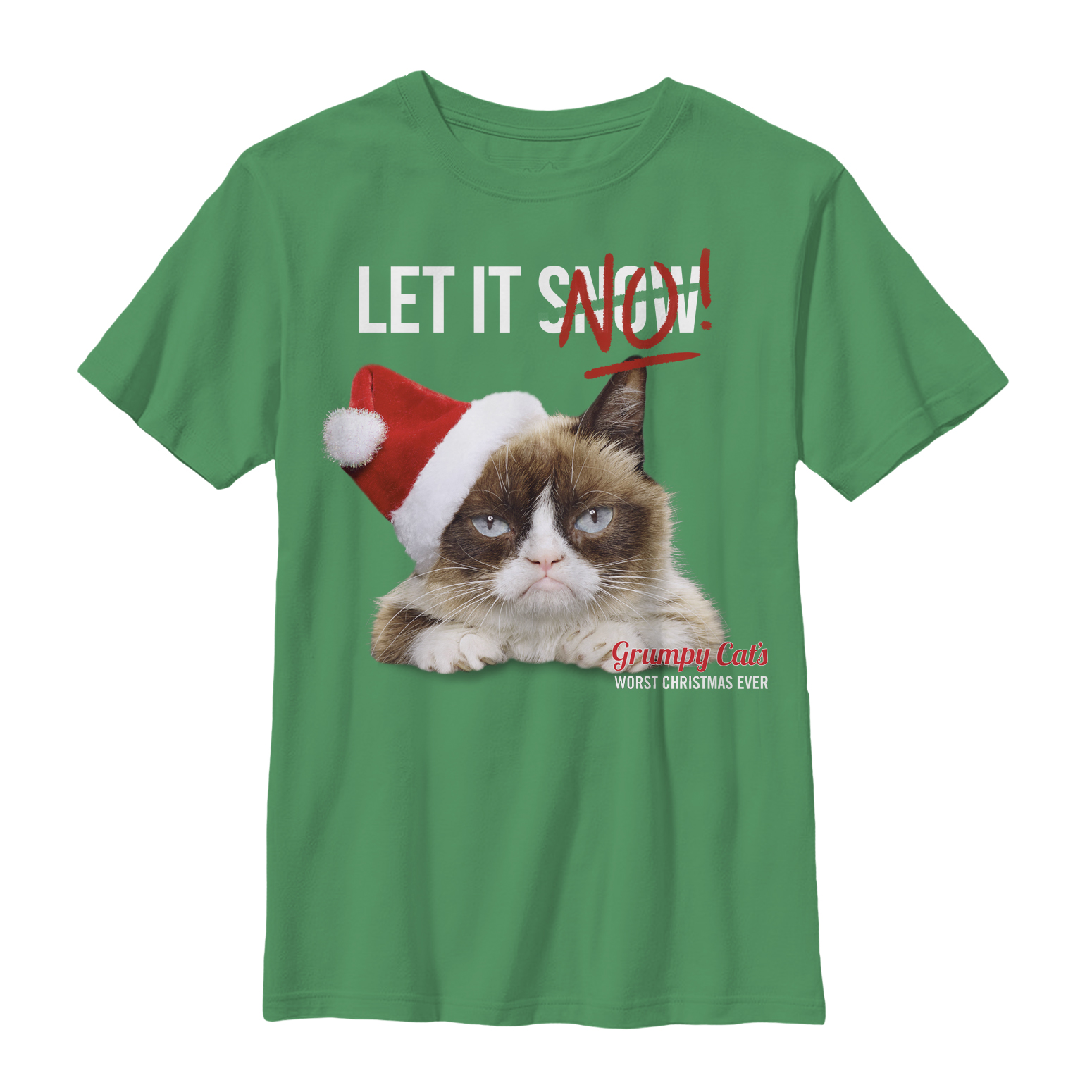 Grumpy Cat Boys' Let it No T-Shirt
