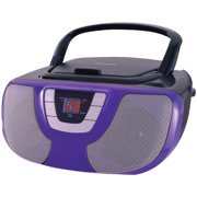 Sylvania SRCD1025 Portable CD Radio Boombox