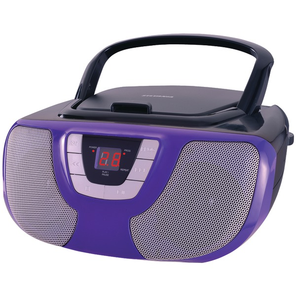 Sylvania Portable Cd Radio Boom Box