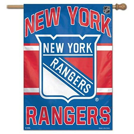 WinCraft NHL New York Rangers 28x40 Inch Vertical Flag Banner - image 1 de 1