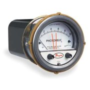 DWYER INSTRUMENTS A3010 Pressure Gauge,0 to 10 In H2O