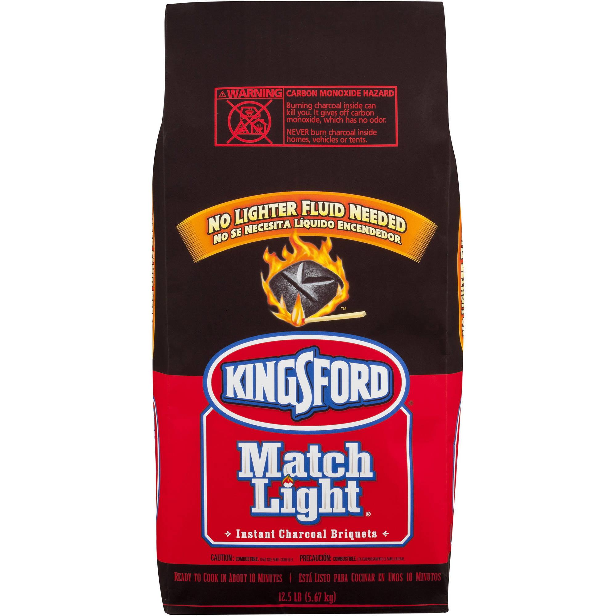 Kingsford Match Light Briquets, 12.50 lbs