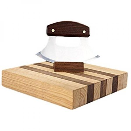 Ulu Factory Ulu Bowl Plain Walnut Handle