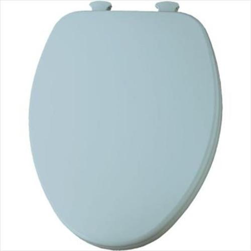 Church 585EC Lift-Off Wood Elongated Toilet Seat, Available in Various Colors