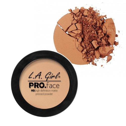 (3 Pack) LA GIRL PRO Face Powder - Warm Caramel