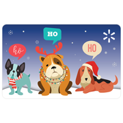Puppies HoHoHo Walmart eGift Card