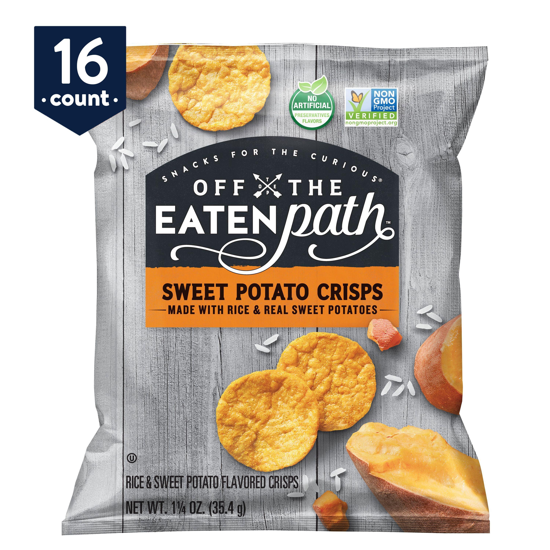 Off the Eaten Path Sweet Potato Crisps, 16 Count