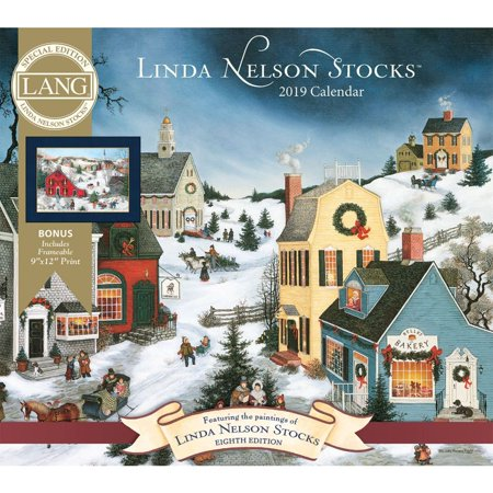 Special Edition 2008 Wall Calendar (2019 Nelson Stocks Special Edition Wall Calendar, by Wells Street by LANG )