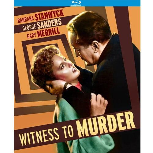 Witness To Murder (Blu-ray) (Widescreen) KICBRK1492