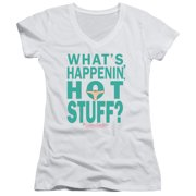 The Breakfast Club Whats Happenin Juniors V-Neck Shirt