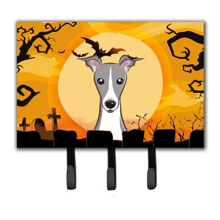 Space Is Key Halloween (Halloween Italian Greyhound Leash or Key Holder)