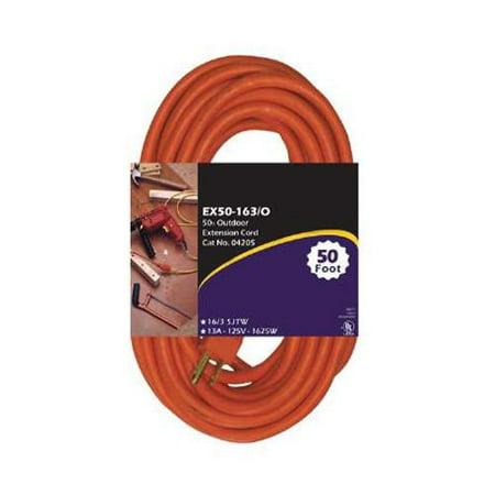 EX50-14/3 TT Tri Tap Orange 50 foot Extension Cord