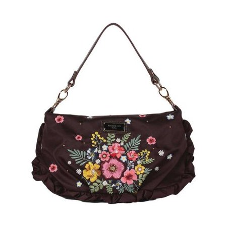 Women's Nicole Lee Adira Embroidery Garden Mini Handbag  12