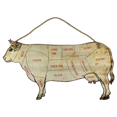 Large 30 cattle beef cuts butcher shop chart sign diagram home large 30 cattle beef cuts butcher shop chart sign diagram home bbq wall decor ccuart Choice Image
