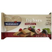 Barbara's Raspberry Fig Bars,12 oz (Pack of 6)