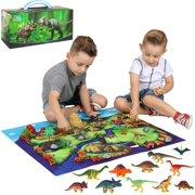 ToyVelt Dinosaurs Action Figure Set, 50 Pieces