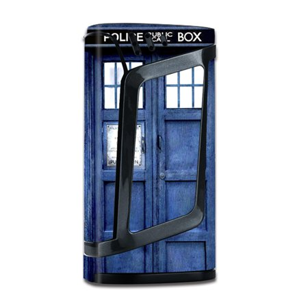 Skin Decal For Smok Alien 220W Tc W/Grip-Guard / Phone Booth, Tardis Call