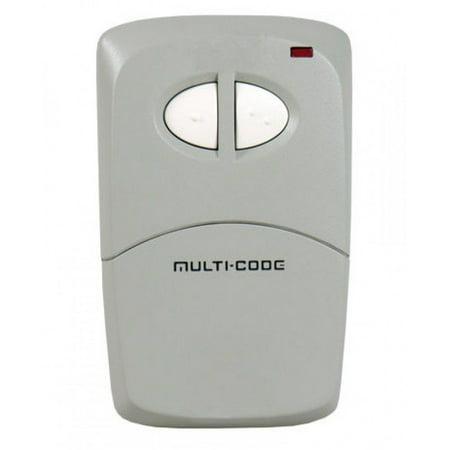 Linear MCS412001 Multi-Code 2-Channel Visor - 1 Button Visor Transmitter