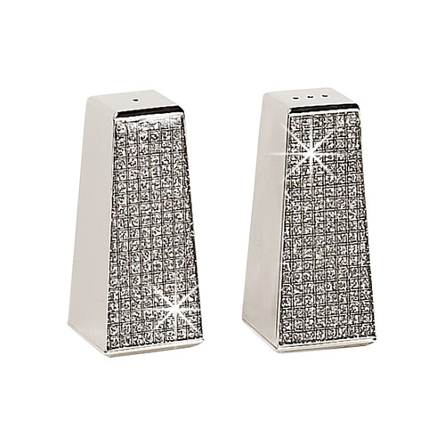 Click here to buy Creative Gifts International Glitter Galore 2 Piece Salt and Pepper Shaker Set by Creative Gifts International.