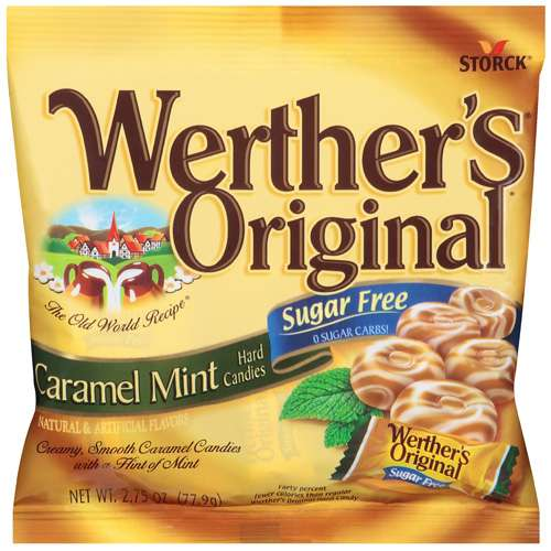 ***Discontinued by CW***Werther's Sugar Free Caramel Mint Hard Candies, 2.75 oz