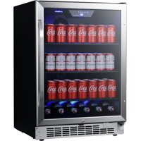 "Edgestar Cbr1502sg 24"" Wide 142 Can Built-In Beverage Cooler - Stainless Steel"