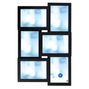 Mainstays 6-Opening 5x7 Inch Collage Frame, Black