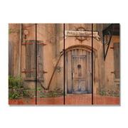 Day Dream HQ OS2216 22 x 16 in. Old South Inside & Outside Cedar Wall Art