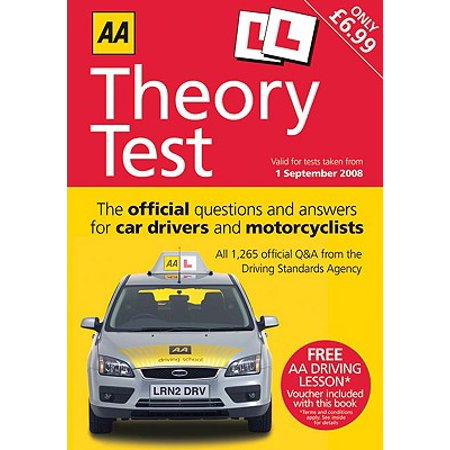 AA Theory Test : The Official Questions and Answers for Car Drivers and  Motorcyclists